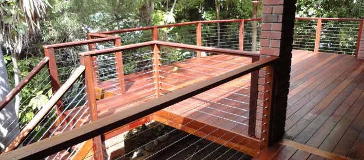 Raised Merbau Hardwood Decking – North Perth - with Stainless Steel ...